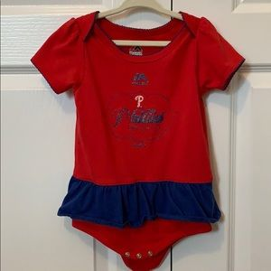 Phillies 24 months outfit with booties